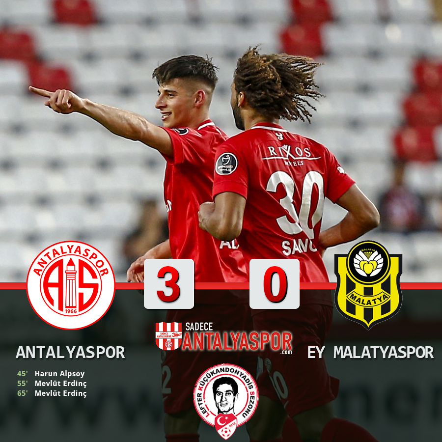 Antalyaspor 3 – 0 Evkur Yeni Malatyaspor