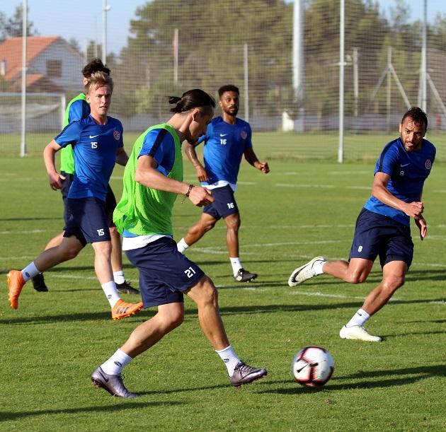 Evkur Yeni Malatyaspor Hazırlıkları Sürüyor