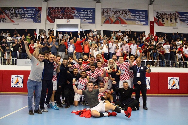 "Antalyaspor'dan ""Avrupa"" Galibiyeti: 29-28"
