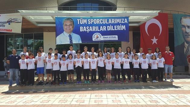 Antalyaspor Yüzme Takımı Başarılı Sonuçlarını Sürdürüyor