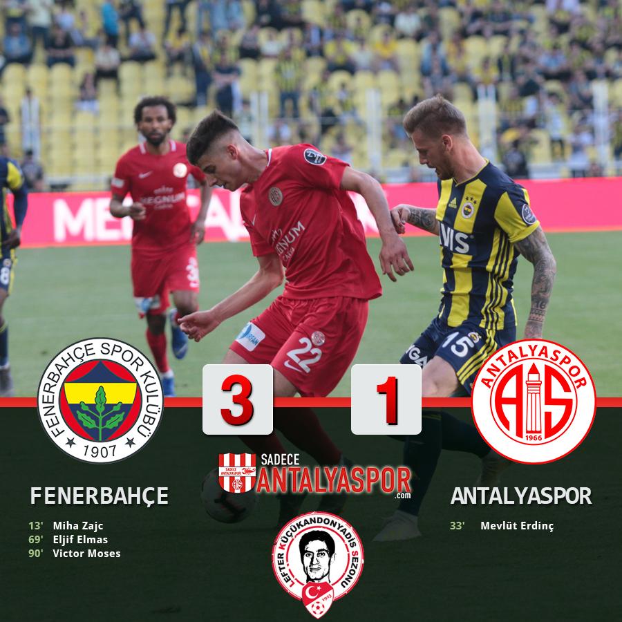 Fenerbahçe 3 – 1 Antalyaspor