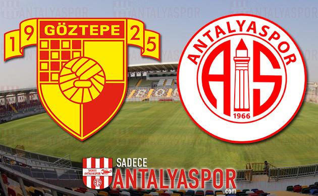Göztepe – Antalyaspor (KADROLAR)